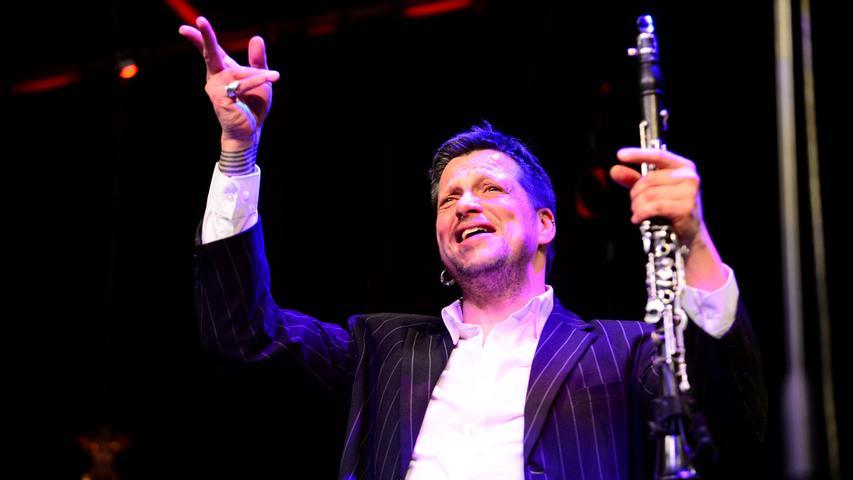 Bereits zum 16. Mal findet in Fürth das Internationale Klezmer Festival statt. Klarinettist Christian Dawid begeisterte mit dem Trio Yas das Publikum.