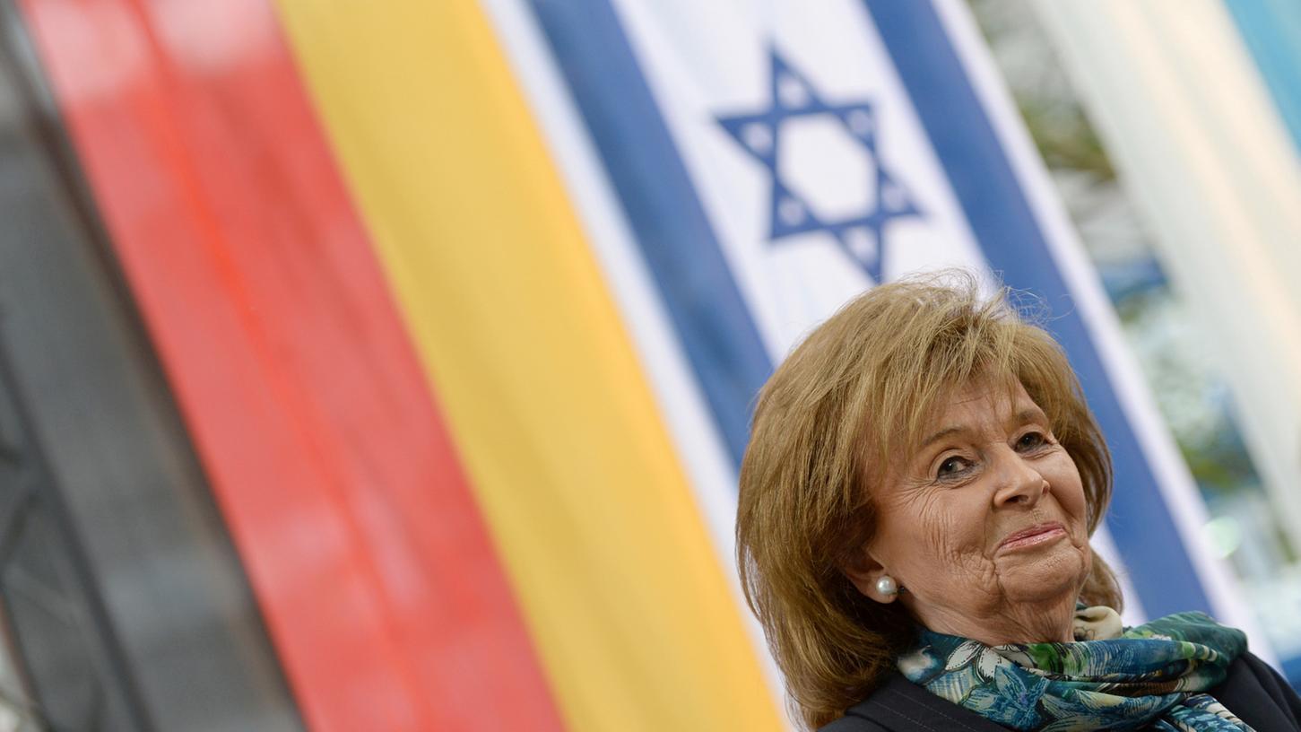 Charlotte Knobloch, die ehemalige Präsidentin des Zentralrats der Juden, konstatierte eine
