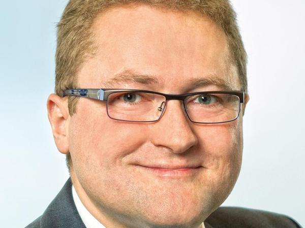 Harald Pischitz vom Bund der Selbständigen vertritt die Aussteller.