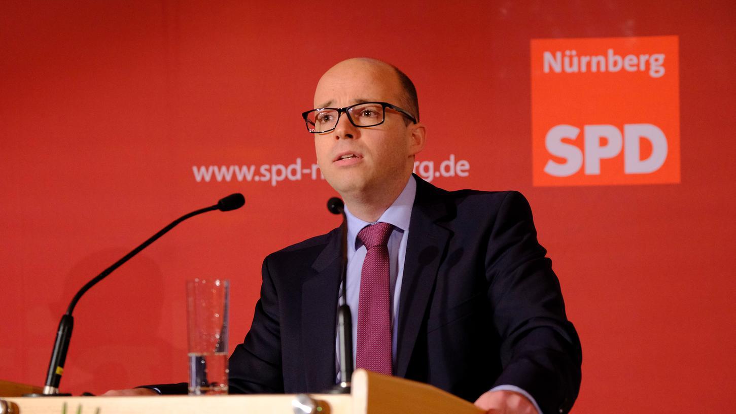 Nürnbergs SPD-Vorsitzender Thorsten Brehm will eine kantigere, eine eckigere Partei.