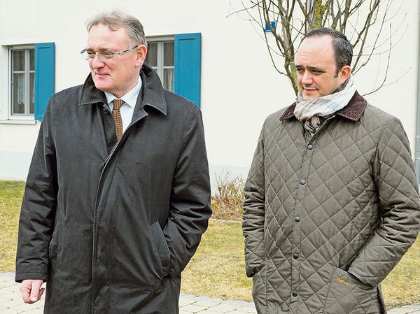 Der CSU-Landtagsabgeordnete Berthold Rüth (links) aus Eschau bei Miltenberg ist Vorsitzender der Enquete-Kommission, in der auch sein Parteikollege Manuel Westphal aus Meinheim (rechts) Mitglied ist.
