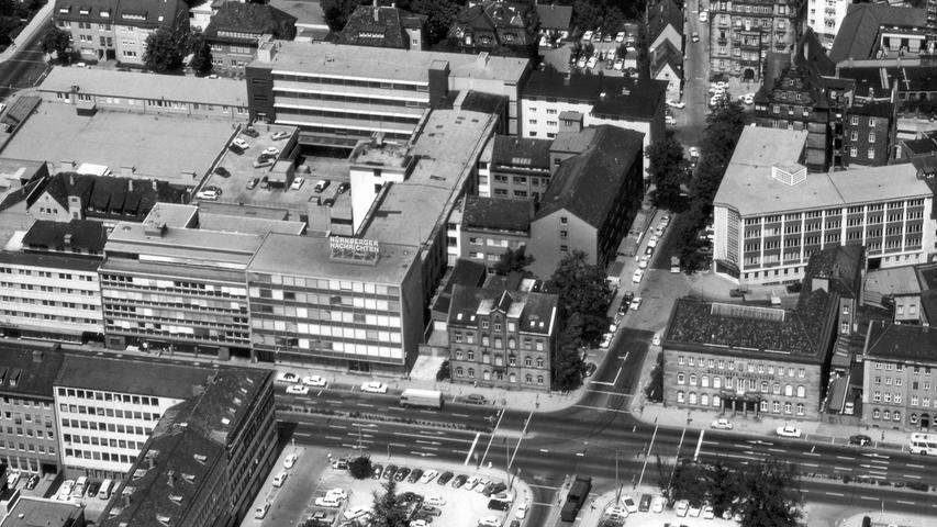 Ab 1949 wird die Zeitung dann am Marienplatz in Nürnberg produziert.