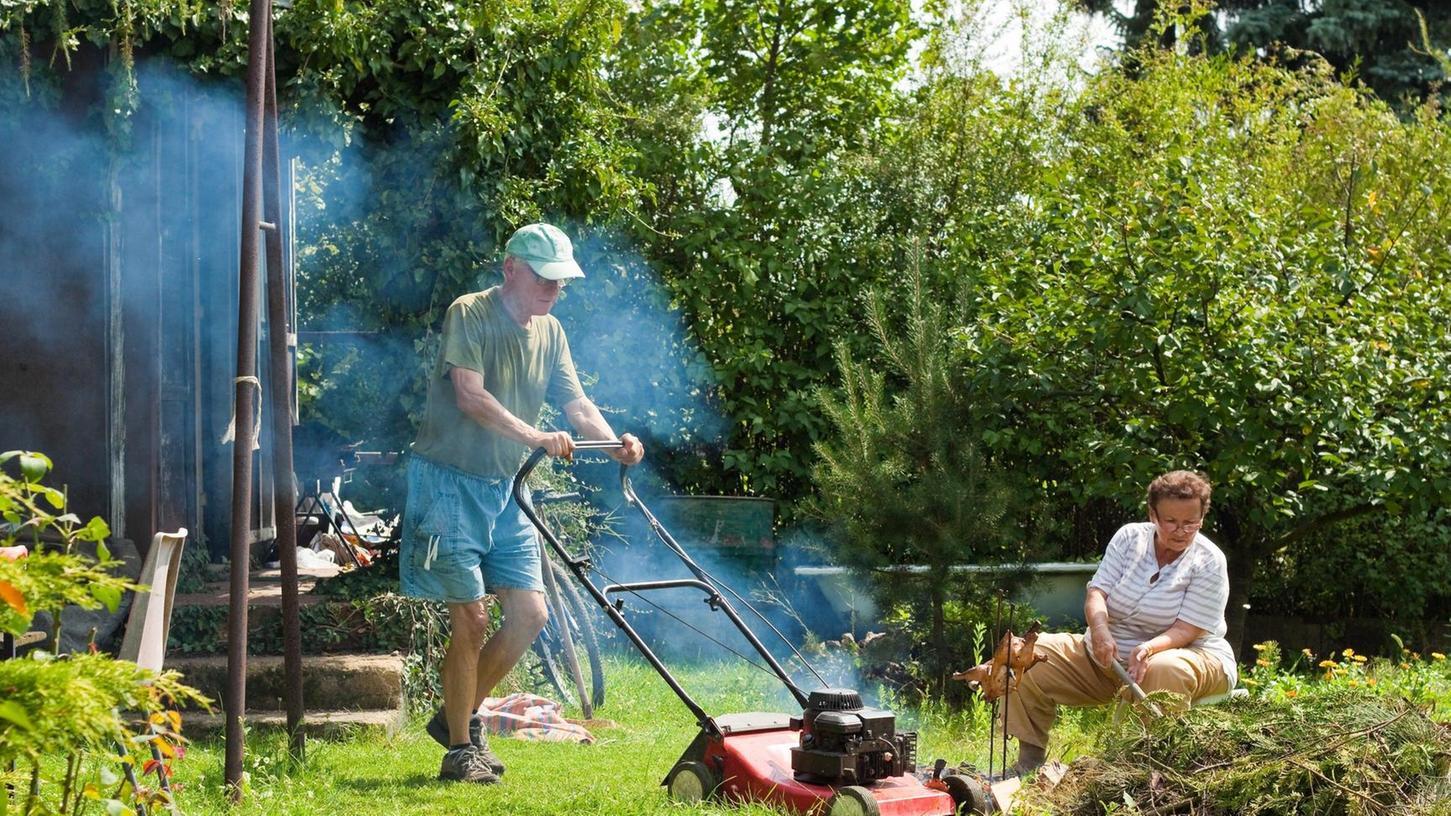 Forchheimer will Unkraut vernichten und setzt seinen halben Garten in Brand