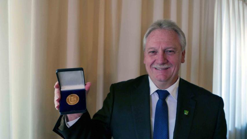 Dass er einmal als Bürgermeister die Sportlerehrungen vornehmen werde, konnte Klaus Meier nicht ahnen, als dem jungen Athleten der Titel