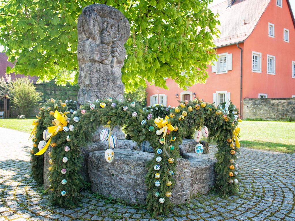 Osterbrunnen in Pretzfeld