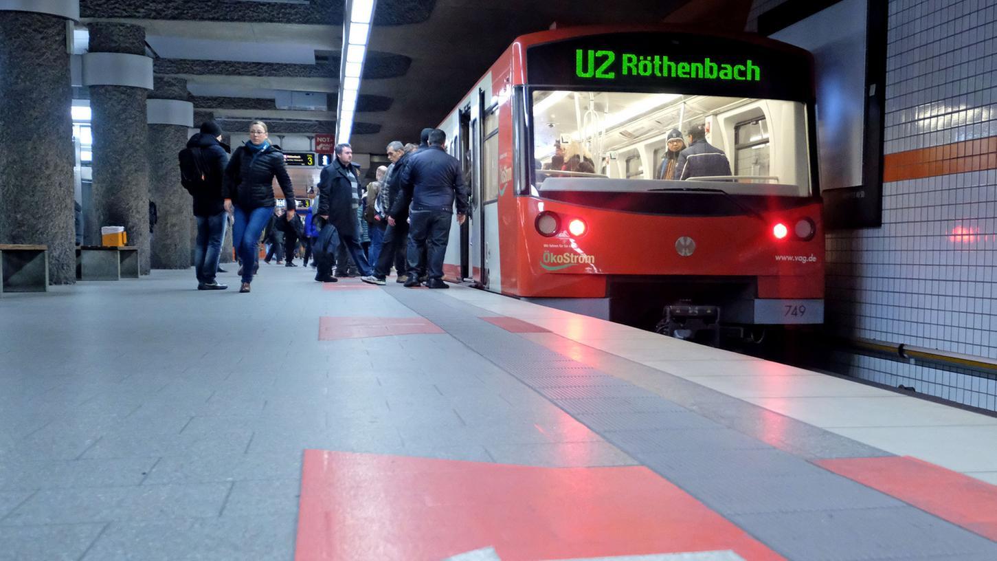 Momentan fährt die U2 nur bis Röthenbach. Das könnte sich jedoch bald ändern.