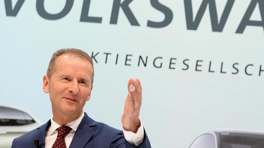 14. April 2018: Der Wechsel an der Spitze ist beschlossene Sache. Der frühere VW-Markenchef Herbert Diess wird neuer Konzernchef von Volkswagen. Er löst damit Matthias Müller ab und will den angekündigten Kulturwandel vorantreiben.