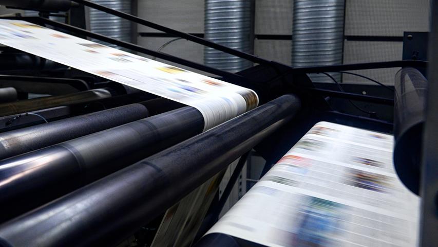 Im neuen Druckhaus wird die Zeitung seither mit Offset-Druckmaschinen produziert.