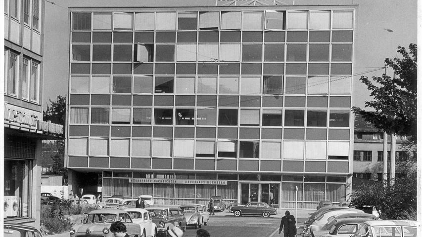 Die Nürnberger Nachrichten: Zeitungstradition seit 1945 in Bildern
