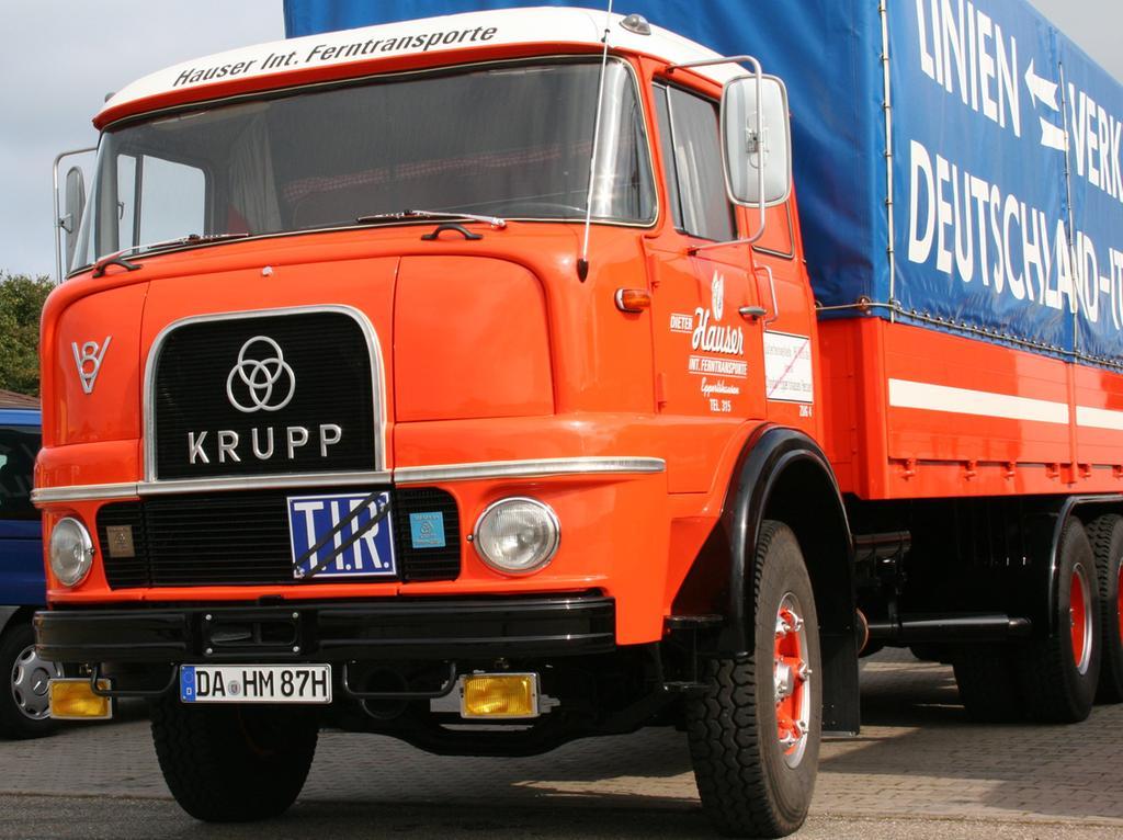 FOTO: Martin Regner, gesp. 4/2018..MOTIV: Krupp, LKW, Lastwagen, Oldtimer, Verkehrstechnik, Nutzfahrzeug