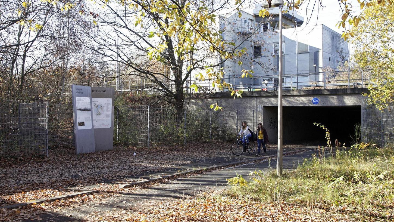 Früher hieß der Ort Bahnhof Märzfeld, heute ist es der stillgelegte Bahnhof Langwasser. Foto: Michael Matejka