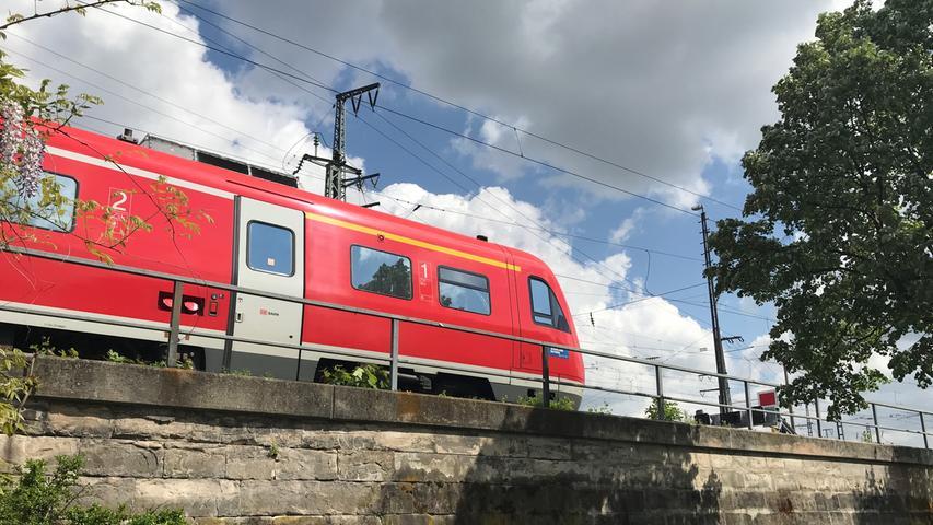 20. Der Nürnberger Hauptbahnhof gehört heute noch zu den größten Durchgangsbahnhöfen in Europa.
