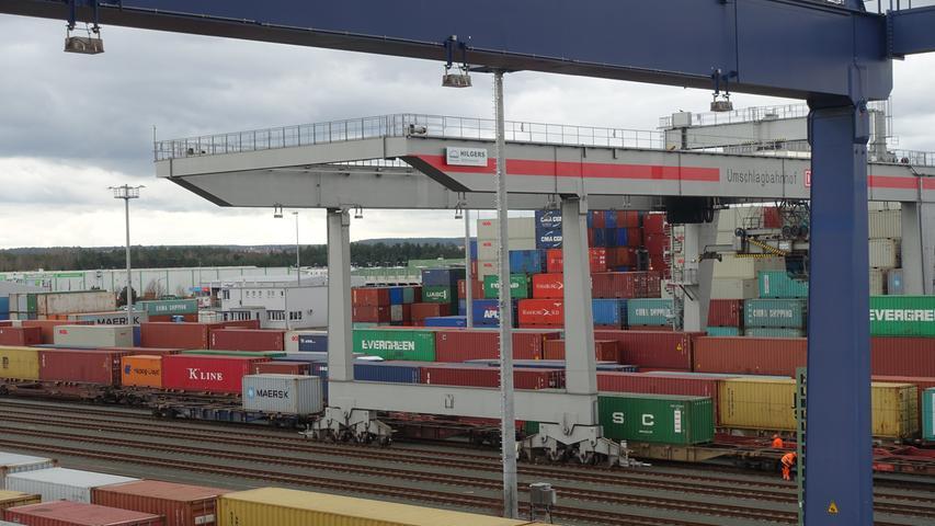 Container und Co.: Einblicke in den Nürnberger Hafen