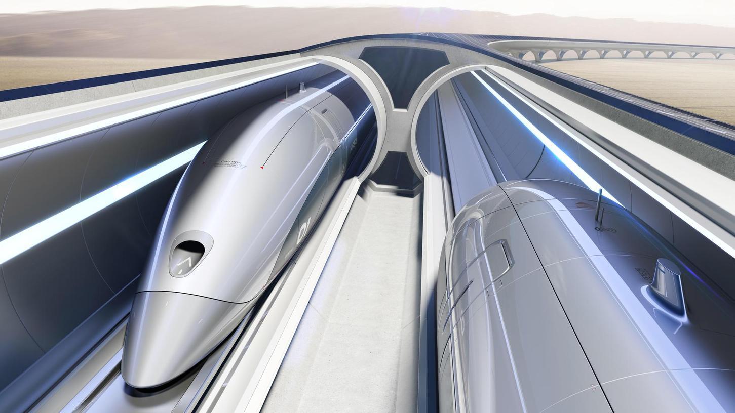 In zehn Minuten von Nürnberg nach München? Mit dem Hyperloop, einer Art Rohrpost für Menschen, könnte das Wirklichkeit werden. Ministerpräsident Söder schwebt eine Teststrecke in Bayern vor.