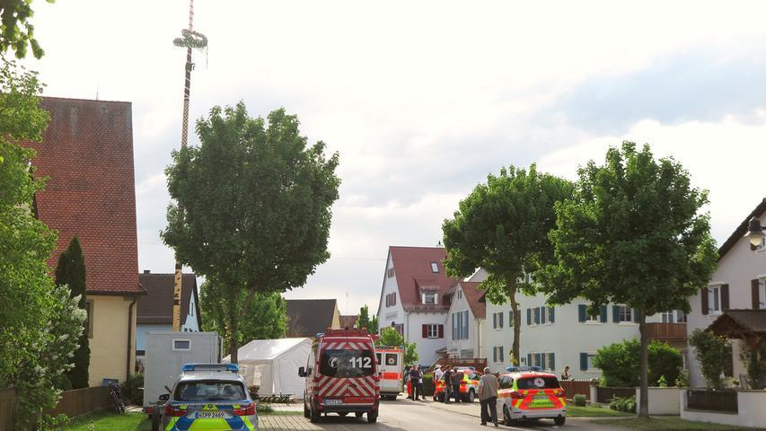 Tödlicher Maibaum-Unfall Treuchtlingen Patrick Shaw 30.04.2018