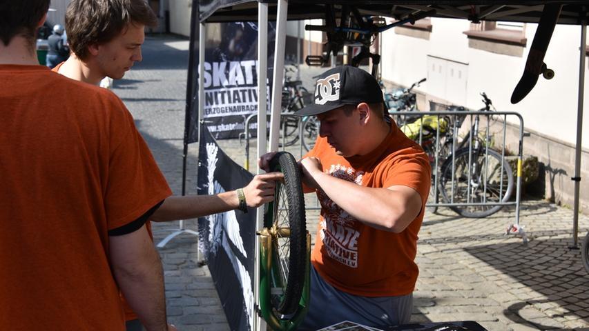 Radeln, testen, registrieren: So war die Fahrradmesse in Herzogenaurach