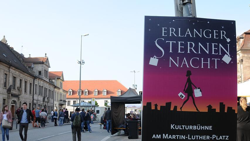 Redaktion:Erlangen..Fotograf:Athina Tsimplostefanaki..Motiv: 10. Erlanger Sternen Nacht ..Datum:11.05.2018