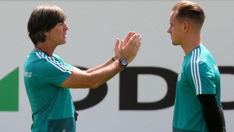 Marc-André ter Stegen hat seine Chancen bei Bundestrainer Löw noch nicht aufgegeben.