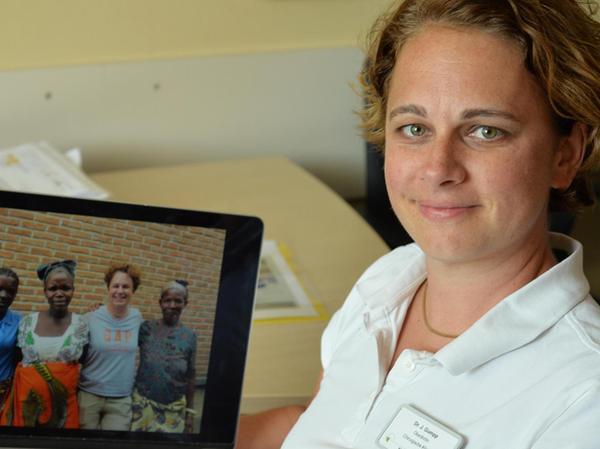 Dr. Julia Gumpp hat sich in das Land Malawi verliebt. Deshalb hilft sie den Menschen.