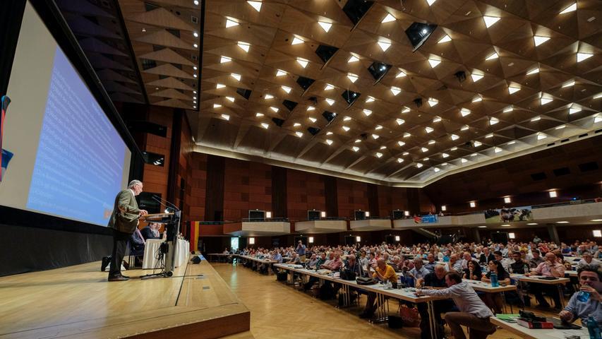 RegBy.Motiv: AfD Parteitag in der Nürnberger Meistersingerhalle; Alexander Gauland.Foto: Guenter Distler.