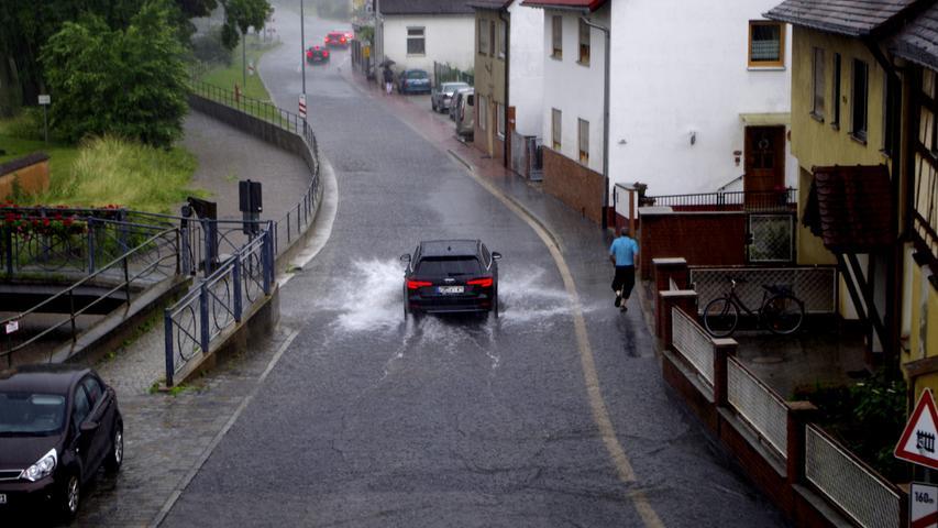 Hochwasser Wilhermsdorf