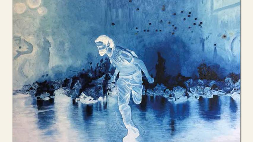 geb. 1966 in Darmstadt lebt in Bamberg Dies Irae (2017) 110 x 165 cm Öl auf Leinwand