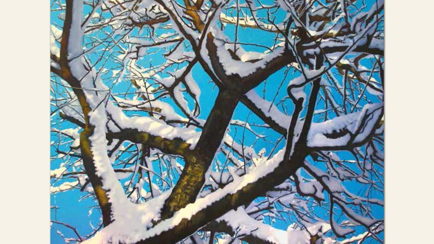 geb. 1956 in Fürth lebt in Fürth Baum im Himmel (2011) 120 x 150 cm Öl auf Leinwand
