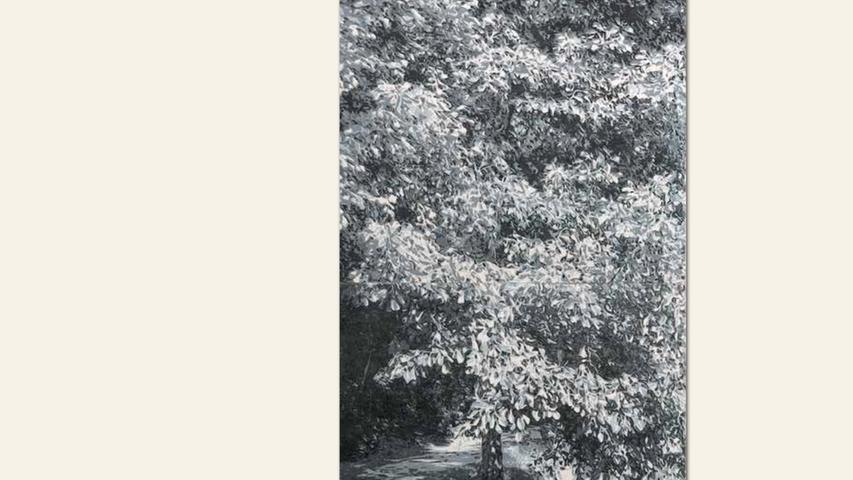geb. 1974 in Minneapolis/USA lebt in Fürth Dann ging die Zeit weiter (2017) 81 x 48 cm Holzschnitt auf Papier