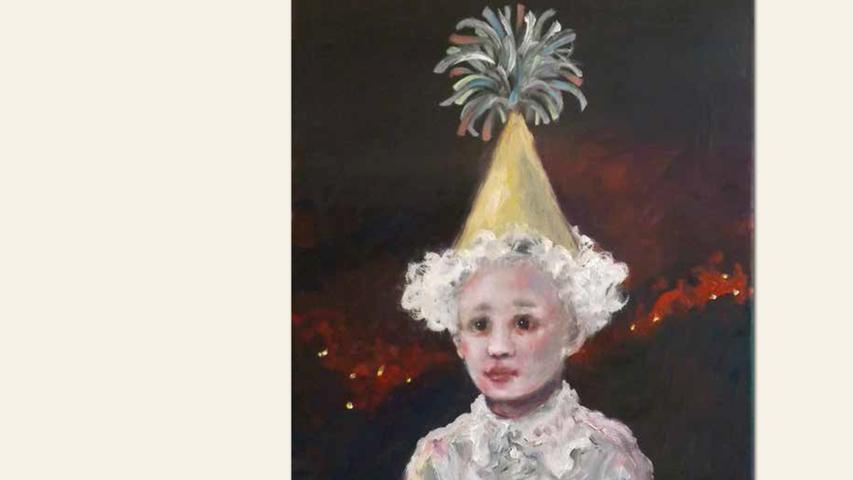 geb. 1948 in Iserlohn lebt in Fürth als Prinz (von Homburg) (2018) 50 x 40 cm Öl auf Leinwand