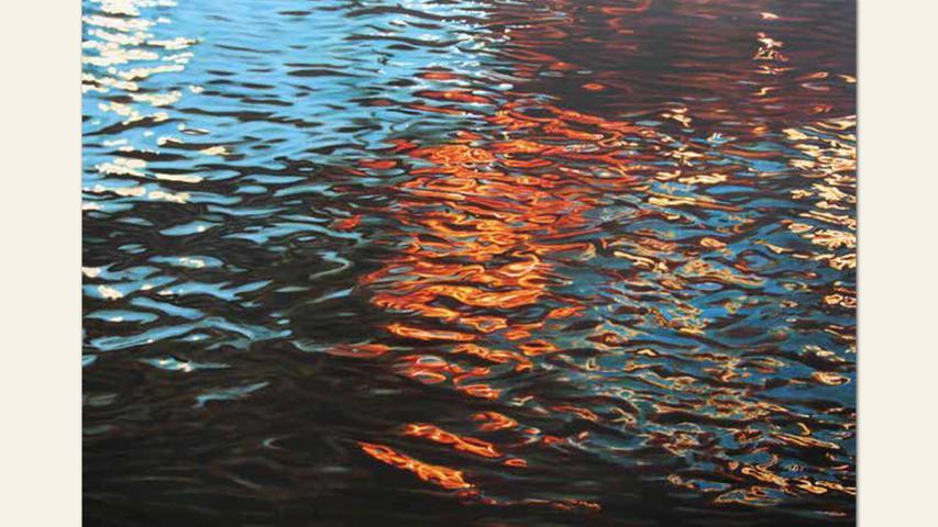 geb. 1962 in Würzburg lebt in Andernach Nacht II (2009) 130 x 170 cm Öl auf Leinwand