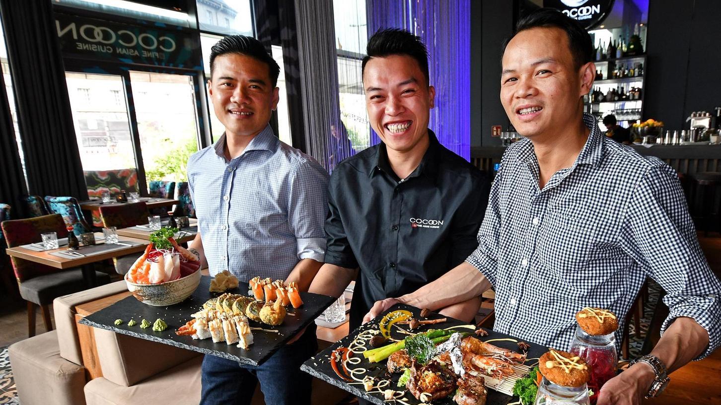 Inhaber Duy Nguyen (links) will sich mit seinem