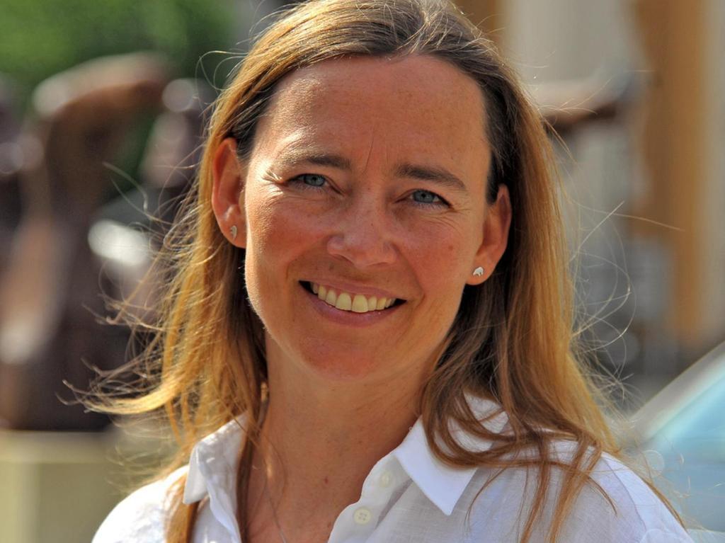 Die Expeditionsleiterin Birgit Lutz engagiert sich gegen Plastikmüll in der Arktis.