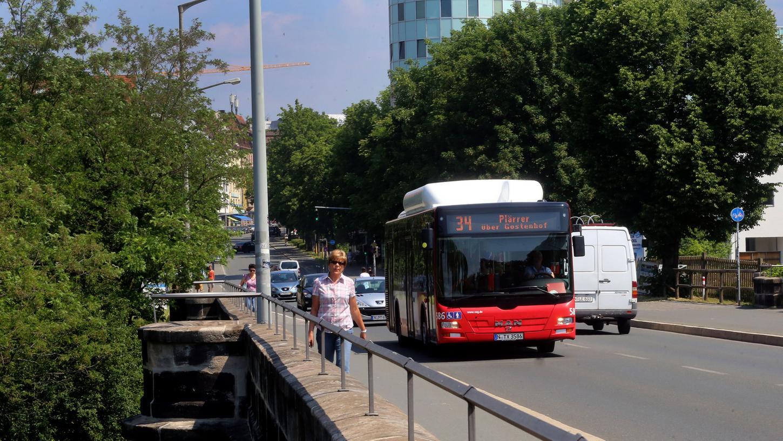 Schnelles Vorankommen mit dem Bus ist in Nürnberg nicht selbstverständlich. Das soll sich in Zukunft ändern.