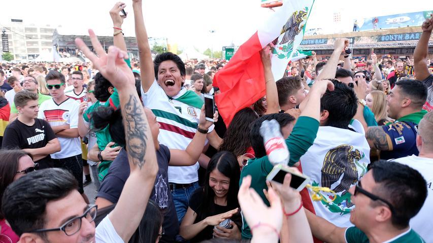 RESSORT: Sport / Lokales..DATUM: 17.06.18..FOTO: Michael Matejka ..MOTIV: Fußball WM 2018 Auftakt Deutschland Mexico....