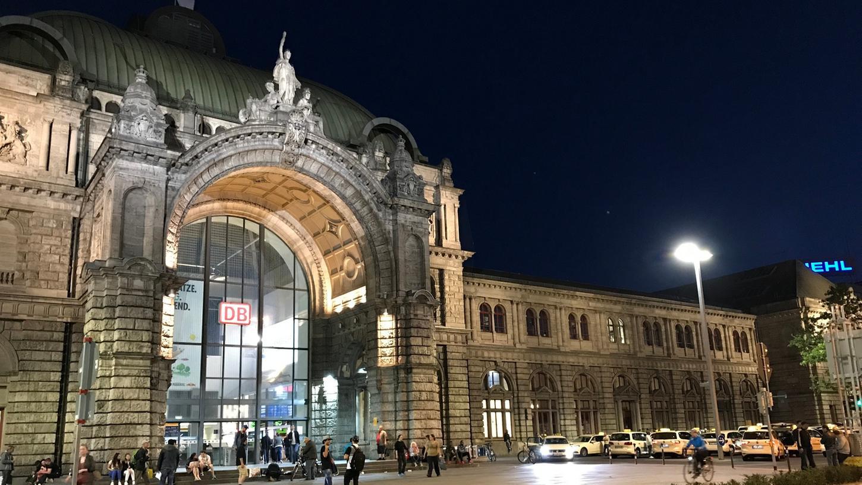 Am Nürnberger Bahnhof kam es am Sonntag zu einer Schlägerei.