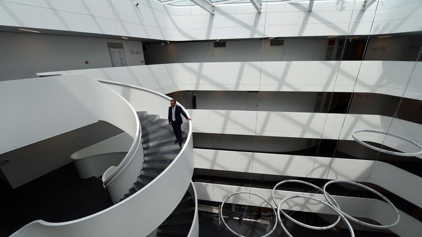 Das neue Landratsamt ist bezugsfertig.. Foto: Klaus-Dieter Schreiter.