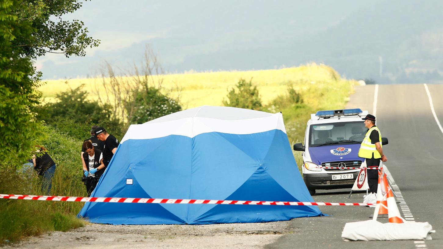 Die Leiche der jungen Frau wurde in der Nähe einer Raststätte im Baskenland gefunden.