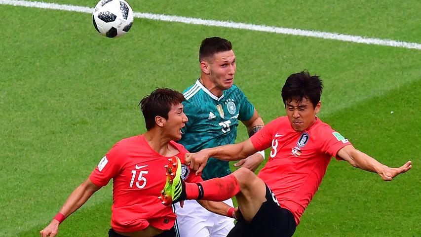 Angeblich der zweitschnellste Bayern-Profi nach Kingsley Coman. Gegen Südkorea genügte es, stabil und konsequent die Position zu halten. Ordentliche Spieleröffnung, erinnert mit Ball am Fuß immer stark an Balu aus dem Dschungelbuch. Gerade noch WM-Debütant.
