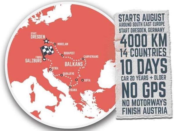 4000 Kilometer, 14 Länder, 10 Tage. Das sind die Balkan Express-Eckdaten.