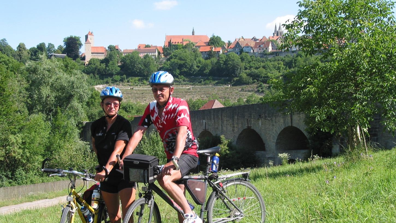 Mit ihren zehn Naturparks ist die Metropolregion ein Eldorado für Radwanderer.