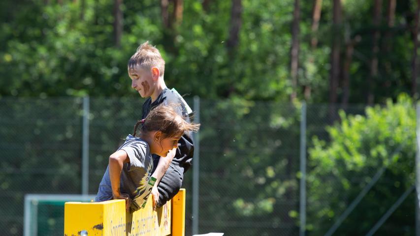 FOTO: Frank Kreuzer, 07.07.2018 - Impressionen vom Wrestling Run der Ringerabteilung der Sportfreunde Laubendorf, Sportplatz der SF Laubendorf, OT Laubendorf, Langenzenn