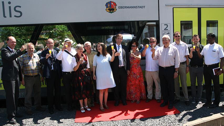 Eisenbahnfest in Ebermannstadt: 35 Jahre Dampfbetrieb auf der Museumsbahn