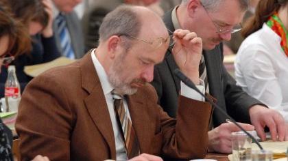 Gehen getrennte Wege: Der geschasste Vize Siegfried Tiefel (rechts) und CSU-Fraktionschef Joachim Schmidt.