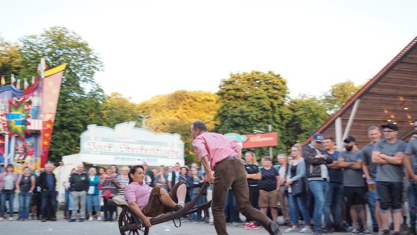 Schubkarren Gaudi Volksfest Treuchtlingen