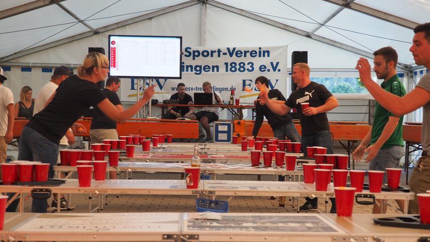 Beer Pong Volksfest Treuchtlingen