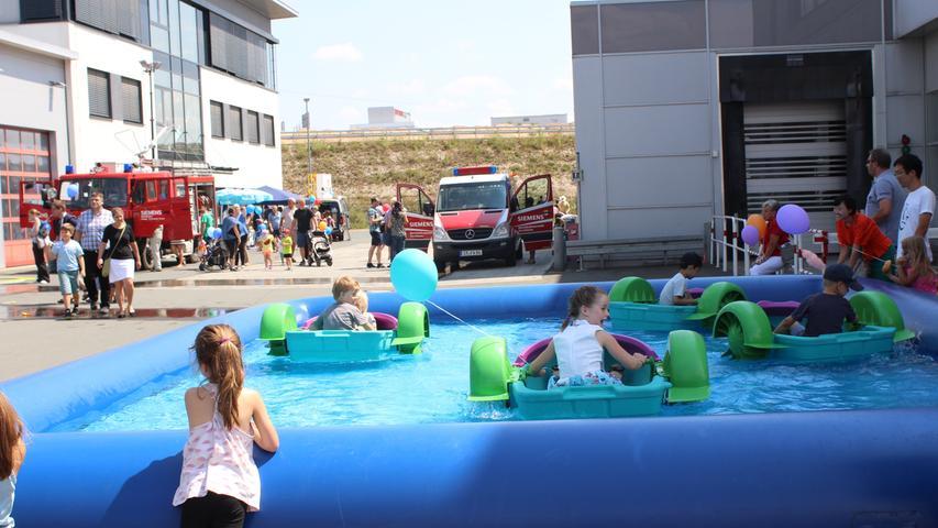 Aktionen für Klein und Groß beim Siemens-Sommerfest in Forchheim