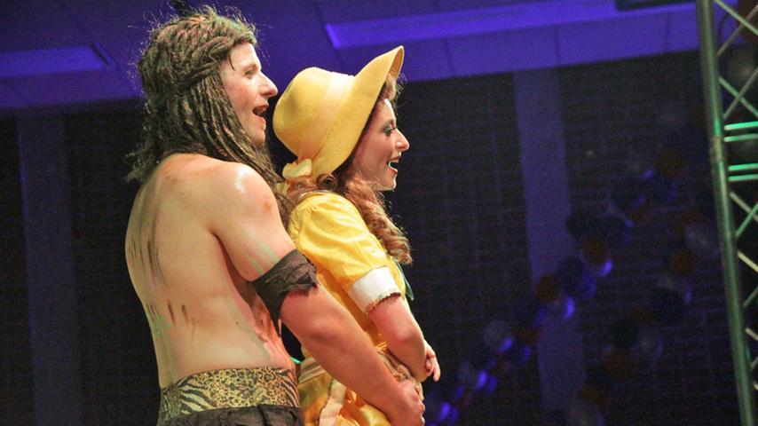 Füreinander bestimmt: Tarzan und Jane.
