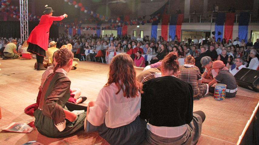 Volles Haus: Die Jubiläumsgala der KaGe war in wenigen Wochen komplett ausverkauft. Rund 500 Gäste erlebten in der Brombachhalle ein tolles Programm mit sechs Musicals (eigentlich sieben, wenn man die Abschlussnummer aus