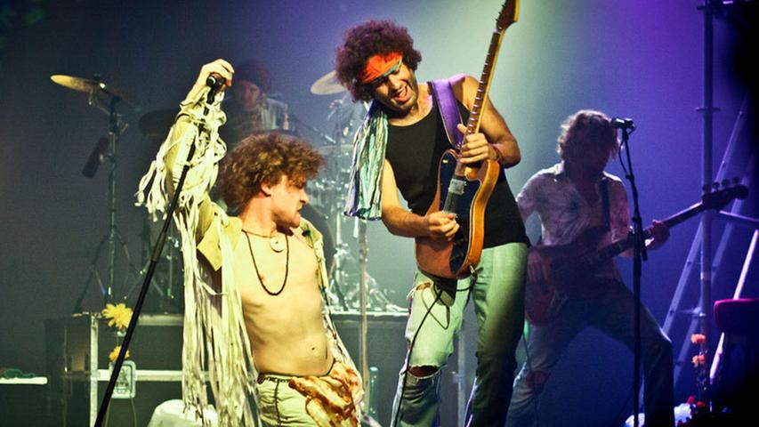 Das Woodstock-Festival im Jahr 1969 erlangte weltweite Berühmtheit.