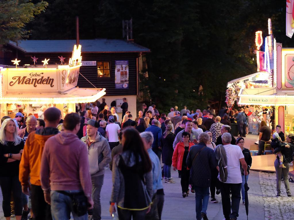 Annafest 2017 im Kellerwald Forchheim; Thema: Fahrgeschäfte..Foto: (c) RALF RÖDEL / NN (24.07.2017)